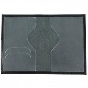 Обложка для паспорта н/к, глад; черн; тисн-PASSPORT 103770