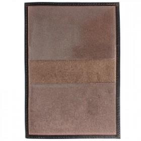 Обложка для паспорта Cayman-П 11Л натуральная кожа коричневый матовый (5)  104114