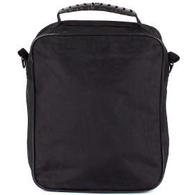 Сумка мужская текстиль Арлион-39А,  1отд,  плечевой ремень,  3внеш карм,  черный 106888