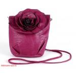 Сумка женская искусственная кожа 1039  (роза),  1 отд,  плеч/ремень,  фиолетовый 112603