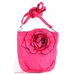 Сумка женская искусственная кожа 1039  (роза),  1 отд,  плеч/ремень,  фуксия розовый 112609