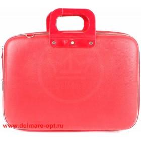 """Кейс для ноутбука  (16""""),  111,  иск/к,  1отд,  красный 112629"""