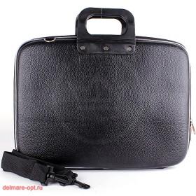 """Кейс для ноутбука  (16""""),  111,  иск/к,  1отд+плеч/рем,  черный 112630"""