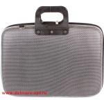 """Кейс для ноутбука  (16""""),  3,  иск/к,  1отд,  серый рубчик 112631"""