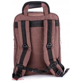 Рюкзак для ноутбука,  2506,  уплот/спинка,  2отд+отд для ноут,  2 внеш+4 внутренних кармана,  коричневый 112634