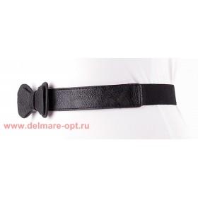 Ремень-резинка,  262,  бант мал,  черный,  шир 2, 5см 112673