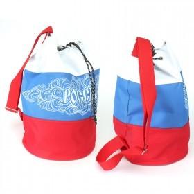 Рюкзак молодежный Silver Top-4151 Торба/ простая спинка,  1отд,  крас/бел/син 125943