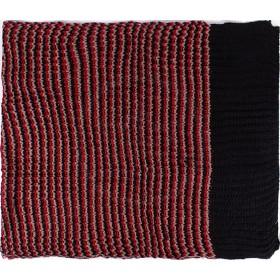Шарф 60*190см,    акрил 100% 3 цвета,    цвет-08,    черн+сер+бордо SALE