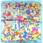Платок шейный 50*50см,  полиэстер 100%,  плетение атлас,  31-2-1-21,  голубой 146507