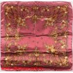 Платок головной 90*90см,  полиэстер 100%,  плетение атлас,  31-2-2-48,  розов 146527