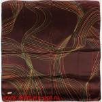 Платок головной 90*90см,  полиэстер 100%,  плетение атлас,  31-2-2-49,  коричневый 146541