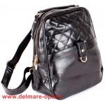 Сумка женская искусственная кожа VLS-T 20232-1 (рюкзак),  1отд,  черный 147003