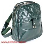 Сумка женская искусственная кожа VLS-T 20232-17 (рюкзак),  1отд,  зеленый 147004
