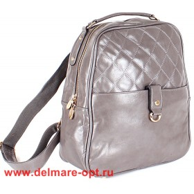 Сумка женская искусственная кожа VLS-T 20232-12 (рюкзак),  1отд,  серый 147006