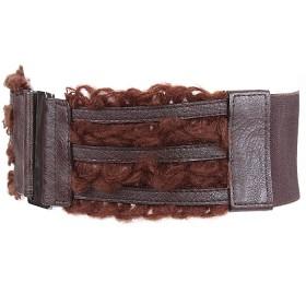 Ремень-резинка 360-5298 шир 7, 5см,  шоколад 148506