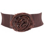 Ремень-резинка 360-5221 шир 7,   5см,    шоколад