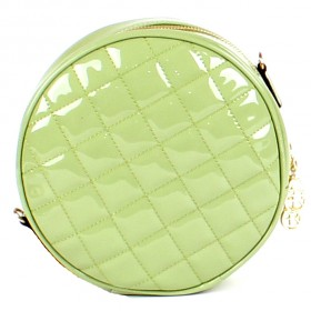 Сумка женская искусственная кожа FR-570919-2-T 209-26X,    1отд,    плечевой ремень,    зеленый  SALE