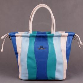 Сумка женская искусственная кожа FR-90460-YB,    1отд,    плечевой ремень,    голубой SALE