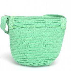 Сумка женская текстиль 669-F 20,    1отдел,    зеленый