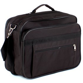 Сумка мужская Silver Top-2010 Максимум,    3отд,    плечевой ремень,    черный