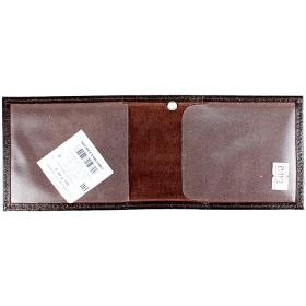 Обложка Cayman-У-01 (для удостоверения)  натуральная кожа коричневый матовый (5)  154042
