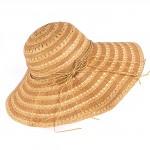 Шляпа женская текстиль    (D=45)    Беатрис-бант,    424-6 бежевый