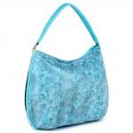 Сумка женская искусственная кожа Meg-791993-2,    1отд+карм/перег,    голубой SALE