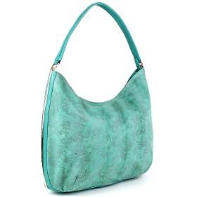 Сумка женская искусственная кожа Meg-791993-2,    1отд+карм/пер,    зеленый SALE