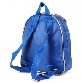 Рюкзак детский Silver Top-1041 Кроха прост спинка/волчонок,  синий 154806