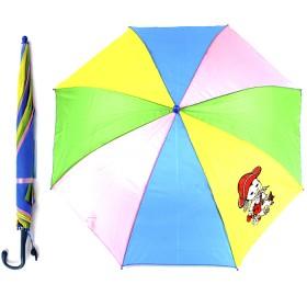 """Зонт детский 045-176,  R=45см,  """"Радуга"""" 514-8 полуавт;  8спиц-сталь;  трость;  полиэстер,  156497"""