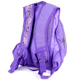 Рюкзак Арлион-385  эргоном спинка,    2отд,    3 внеш карм,    фиолет/розовый,    бабочка