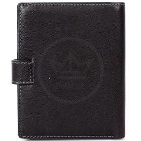 Кошелек+паспорт муж натуральная кожа A-00442 (54030)  black,  2отд,  21карм,  черный 165983
