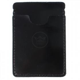 Визитница-футляр Premier-V-49 натуральная кожа черный гладкий (89)  166609