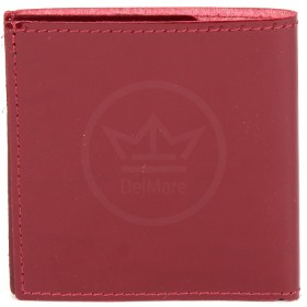 Портмоне женское Premier-М-55 натуральная кожа 1 отд,    2 карм,    красный темный гладкий   (138)