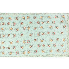 Шарф 56*160см,    полиэстер 100%,    плетение шифон,    рис прованс,    зеленый