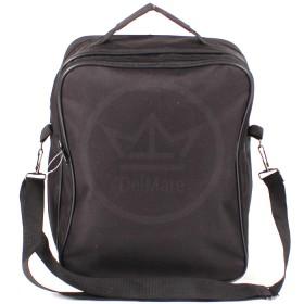Сумка мужская текстиль Дизайн-Эксперт-5,    2отд,    плечевой ремень,    2внеш карм,    черный