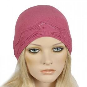 Шапка женская Tella-Бети  (одинарная),  Шерсть-30%;  Акрил-70%,  розовый SALE 170555