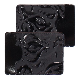 Визитница-футляр Premier-V-49 натуральная кожа черный пион (129)  172712