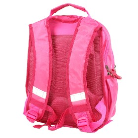Рюкзак Арлион-603ева эргоном спинка,    2отд,    4 внеш карм,    розовый,    бабочки