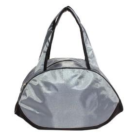 Сумка дорожная SilverTop-4091 Лидер,    б/подклада,    жесткое дно,    серый/черный    (Fitness sport)