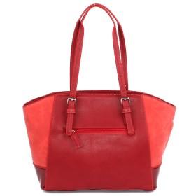 Сумка женская искусственная кожа DJ-5211-6-RED,    1отд.,       (треснул коржзам на лицевой стороне УЦЕНКА)    красный