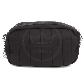 Сумка женская текстиль DJ-5218-1-BLACK,  1отд,  плечевой ремень,  черный SALE 177707