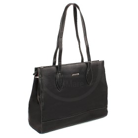 Сумка женская искусственная кожа DJ-CM 3203-BLACK,  1отд,  карм/пер,  черный SALE 177796
