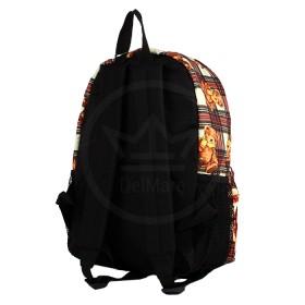 Рюкзак Юпитер-8309.37К    (64) ,    молодежный,    уплотн.спинка,    1отд+перег,    1внут+1внеш карм,    беж/красный    (мишка)
