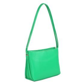 Сумка женская искусственная кожа ADEL-17/ЗФ/ММ,  1отд+карм/пер,  зеленый  SALE 178966