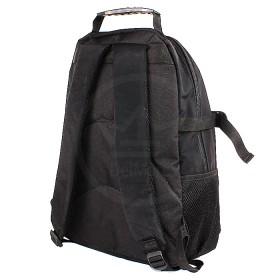 Рюкзак муж Rise-м-147,    уплотн.спинка,    1отд,    3внеш+1внут карм,    черный