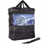 Сумка Sarabella-SG 013 дорож,    трансф низ,    ножки,    1отд,    плечевой ремень,    1внеш карм,    черный/синий