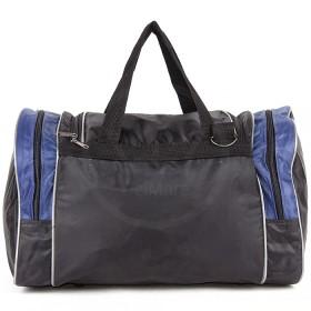 Сумка Sarabella-С 054 дорож    (П-420) ,    ножки,    1отд,    3внеш карм,    плеч ремень,    черный/синий