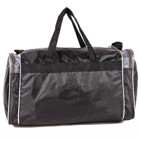 Сумка Sarabella-С 007Н дорож  (П-420),  1отд,  3внеш карм,  плеч ремень,  черный/серый 182466