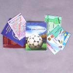 """Обложка PVC 5 в 1,  рисунок """"Документы"""", футбол  SALE 183180"""